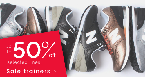 Trainers - up to 50% off