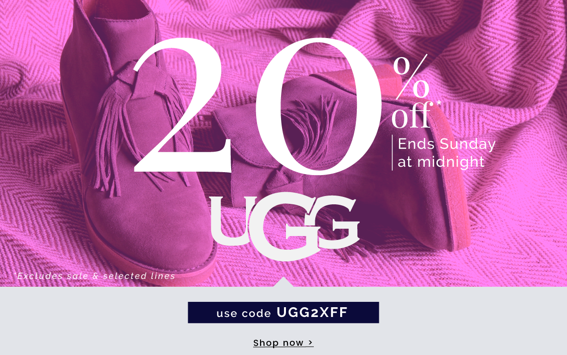 UGG   Indulge your feet in luxury  - Shop now >