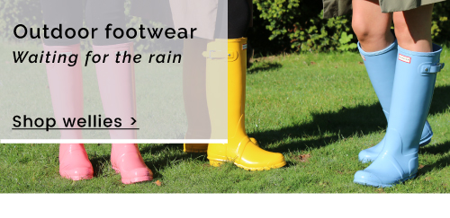 Outdoor footwear | Waiting for the rain - Shop Wellies >