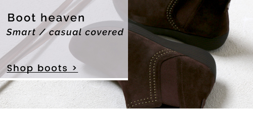 Boot Heaven | Smart / casual covered - Shop Boots >
