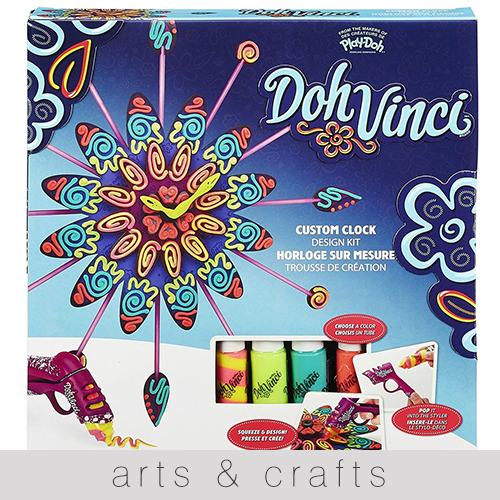 Get creative this season with the arts and crafts section
