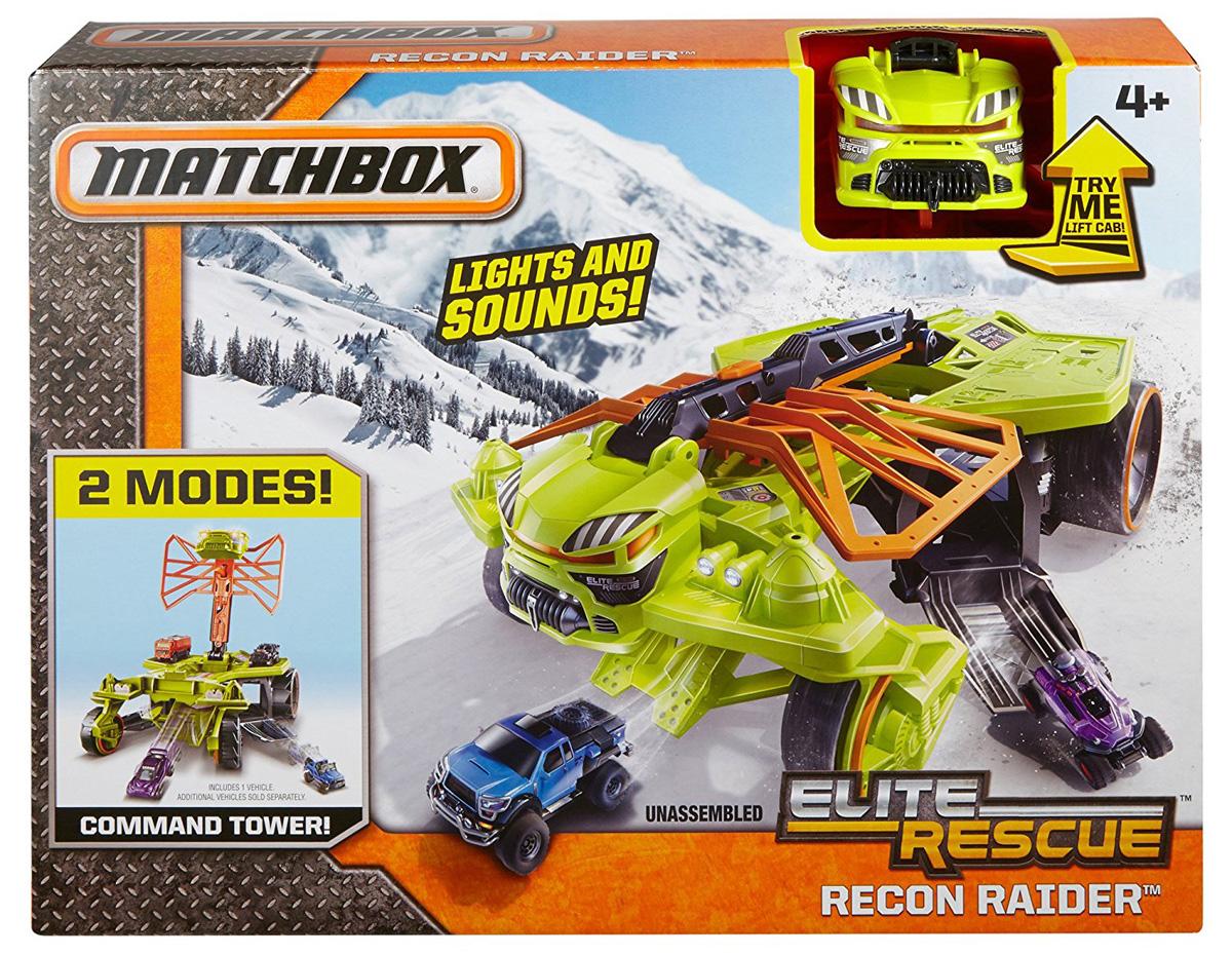 Matchbox Elite Rescue Recon Raider Vehicle