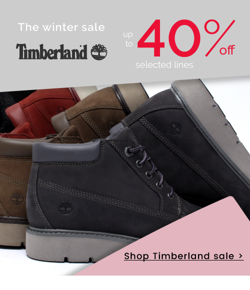 Timberland - 40% off - Shop now >