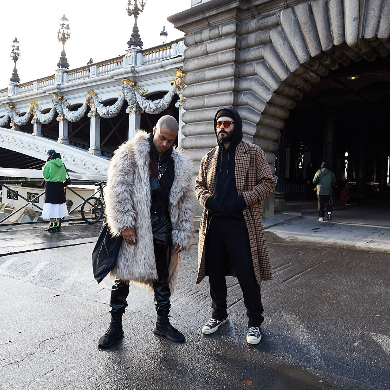 Paris Fashion Week Men's: Street Style