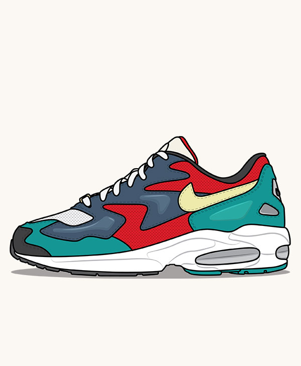 detailing 623b3 8324a Nike Air Max2 Light SP