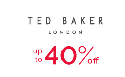 Ted Baker - up to 40% off