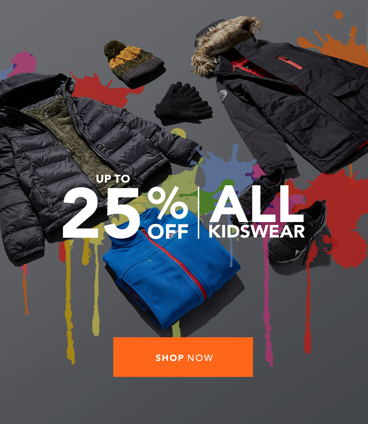 Up To 25% Off Kidswear