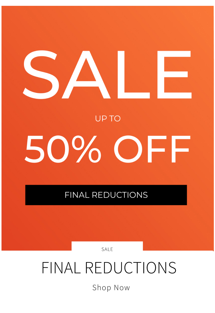 Sale: final reductions