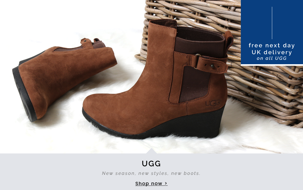 UGG | New season, new style, new boots - Shop Now >