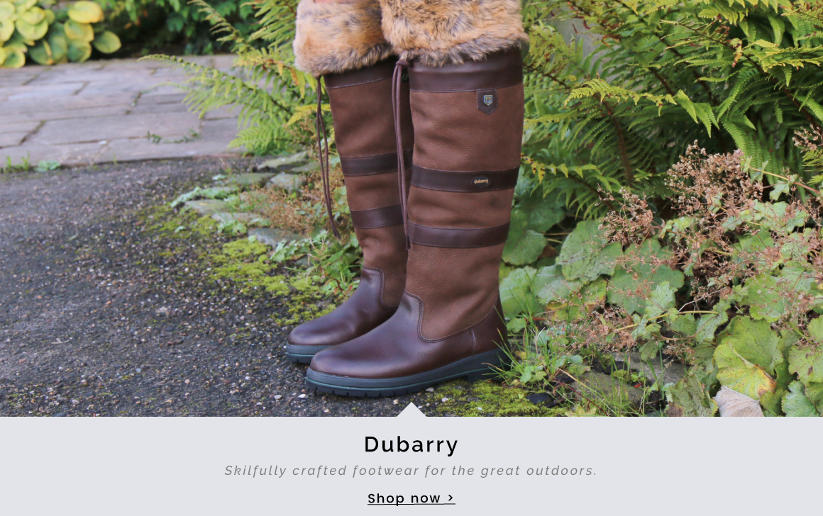 Dubarry | Skilfully crafted footwear for the great outdoors - Shop now >