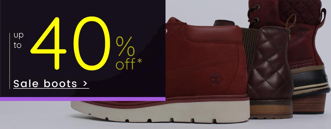 Sale - Shop Boots >