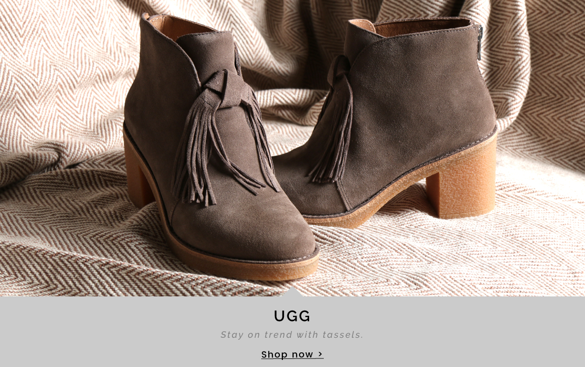 UGG | Stay on trend with tassels - Shop now >