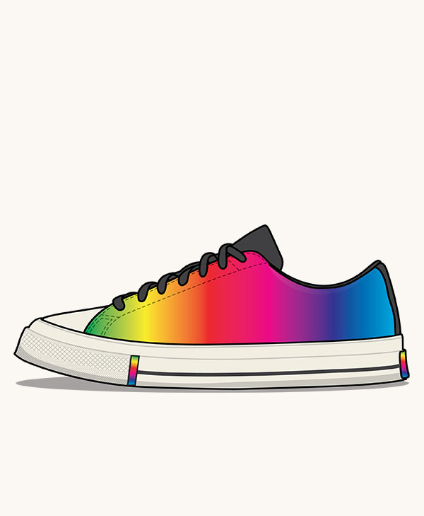 buy popular 5243c a8a31 Converse Chuck Taylor All Star 70s Low  Pride