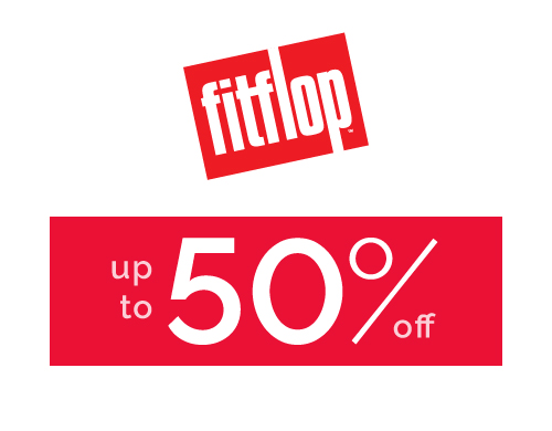 FitFlop - up to 50% off