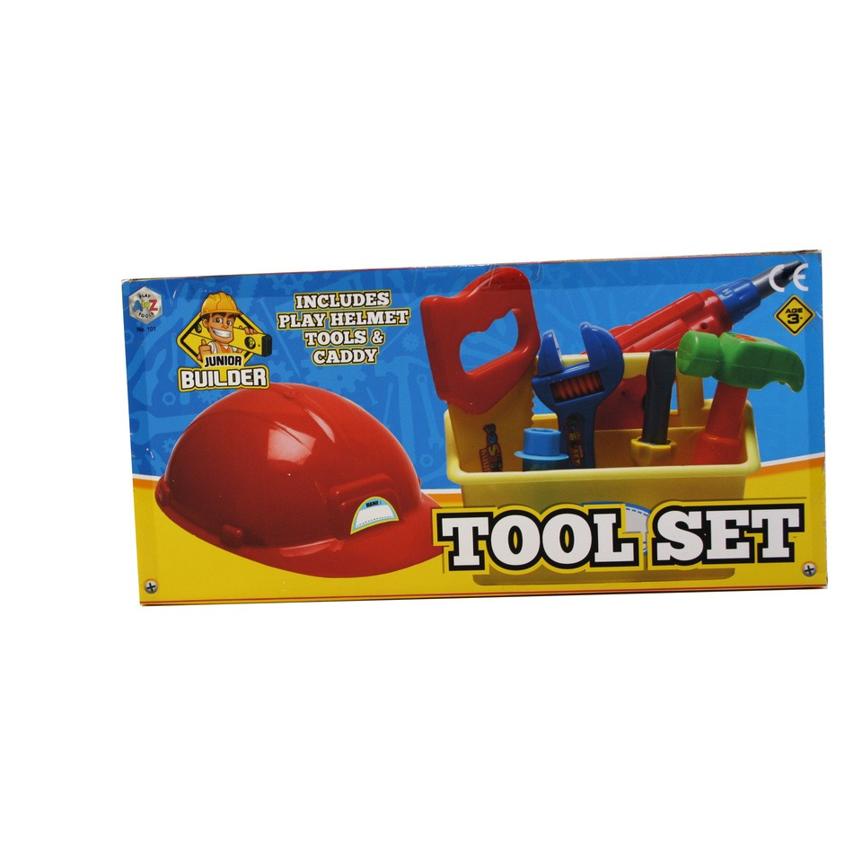 A to Z Play Tools Junior Builder Tool Set