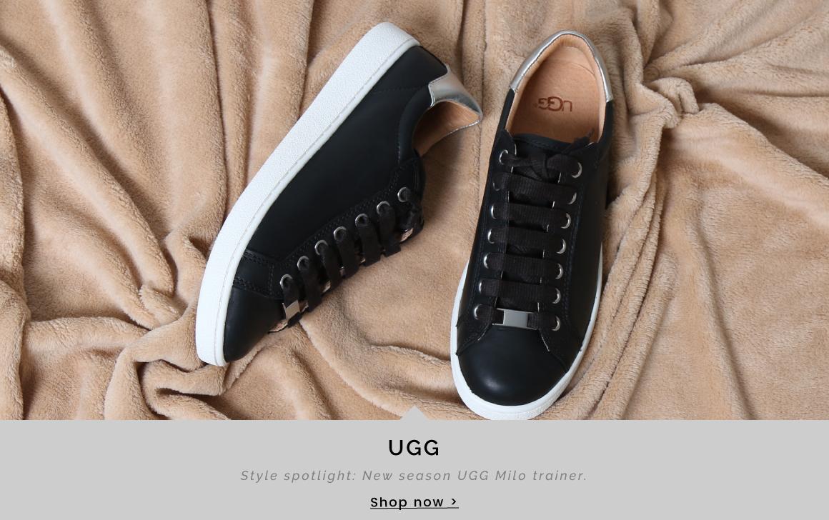UGG | Style spotlight: New season UGG Milo trainer - Shop now >