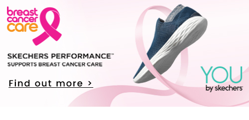 Skechers Performance | Supports breast cancer care - Find out more >