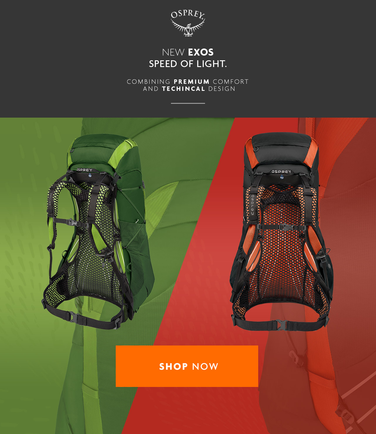 Osprey | New Exos Speed Of Light