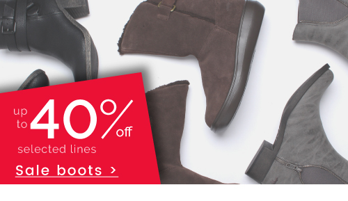Boots - up to 40% off >
