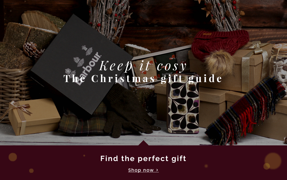 Christmas Gift Guide - Shop now >