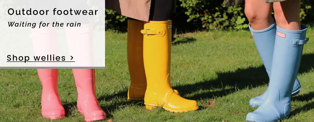 Hunter Wellies - Outdoor footwear | Waiting for the rain - Shop Wellies >