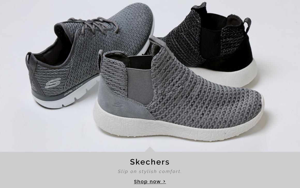 Skechers | Slip on stylish comfort - Shop now >