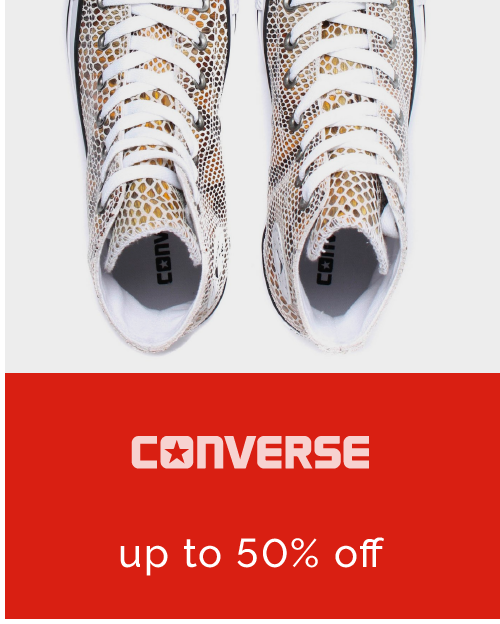 Converse - up to 40% off >