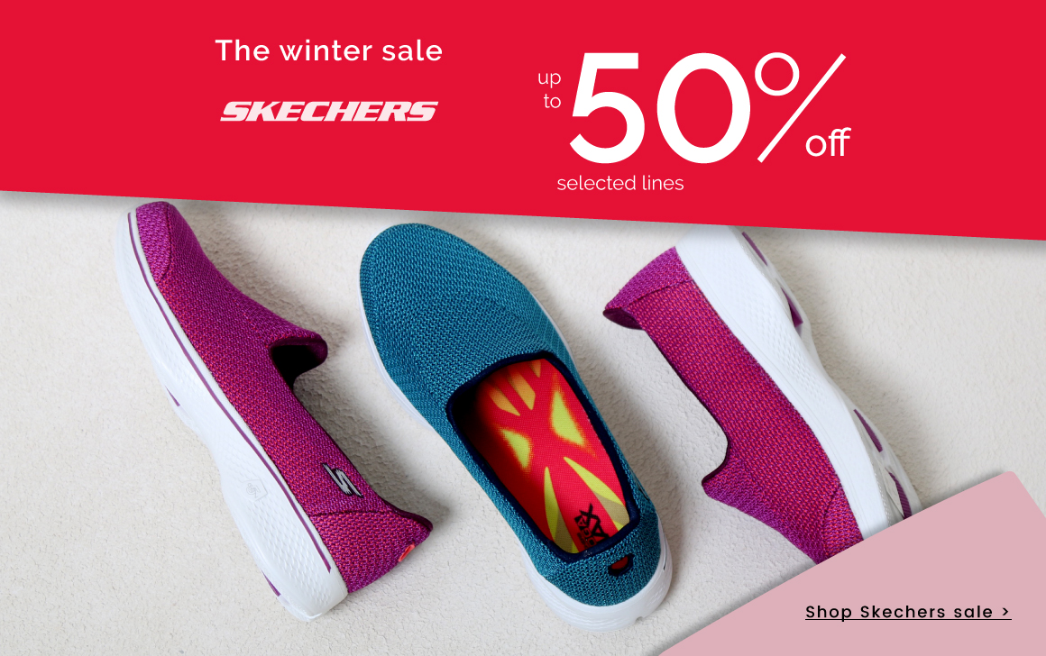 up to 40% off Skechers >