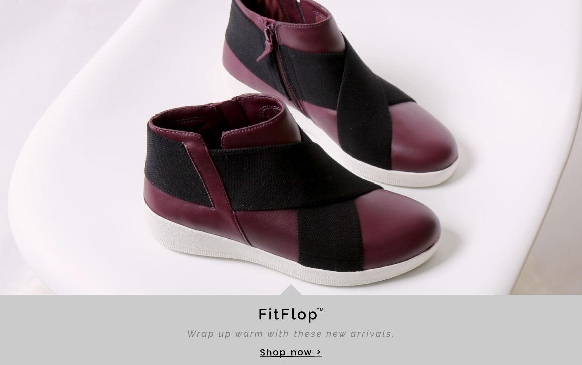 FitFlop | Warm up warm with these new arrivals - Shop now >