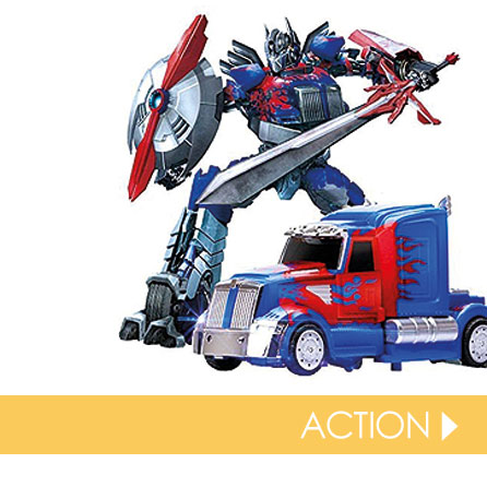 Action toys for everyone