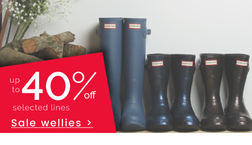 Wellies - up to 40%