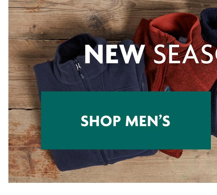 Men - New Season Fleece