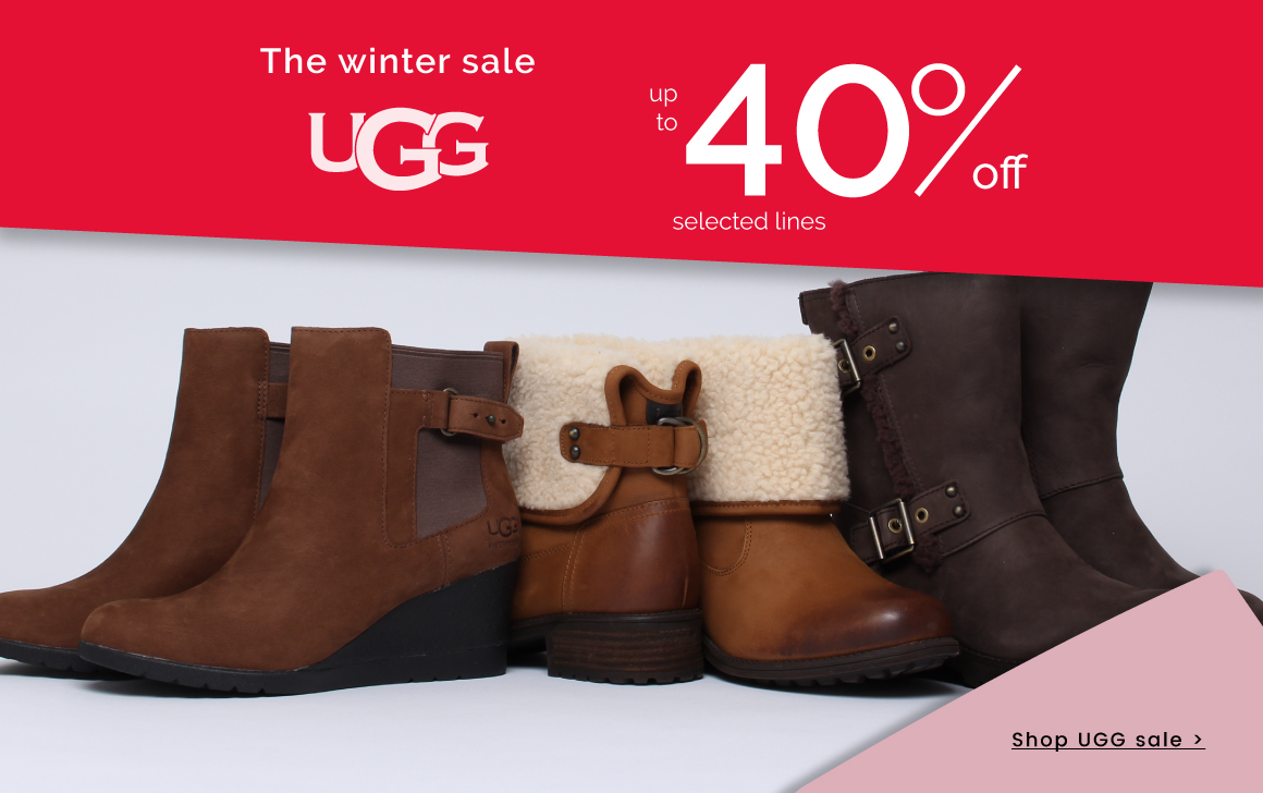up to 40% off UGG >