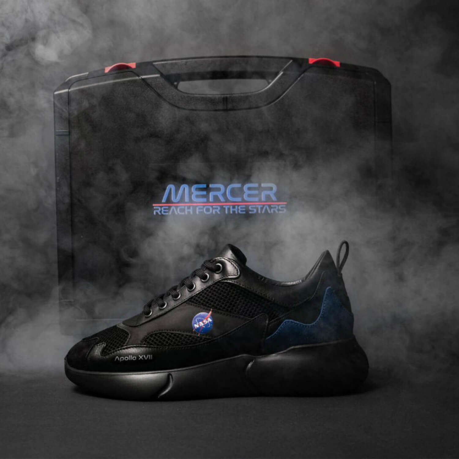 Introducing Mercer X NASA: W3RD 2.0 Night Mission Sneakers
