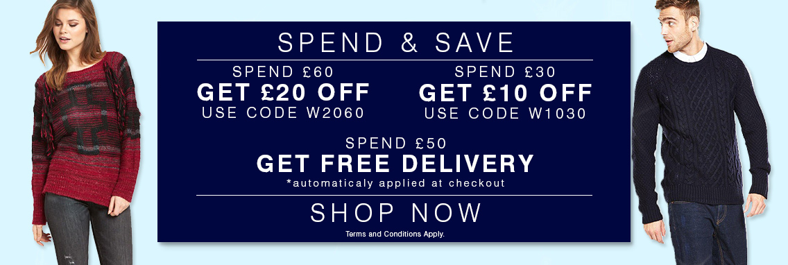 Christmas Spend and Save up to £20!