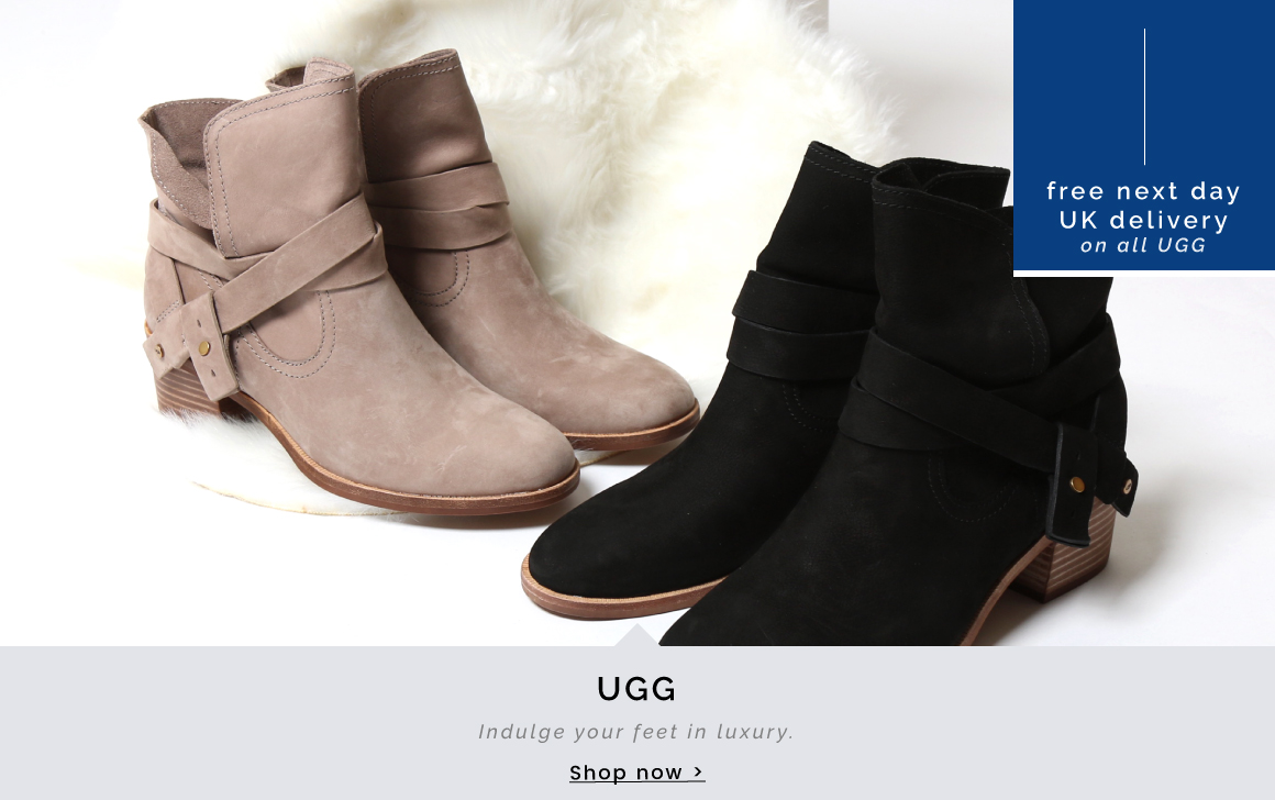 UGG | Indulge your feet in luxury  - Shop now >