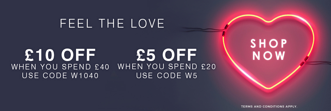 Get £5 off when you spend £20 or more