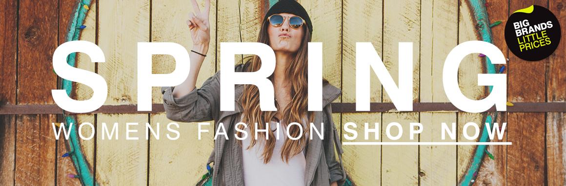 Massive savings on womens fashion!