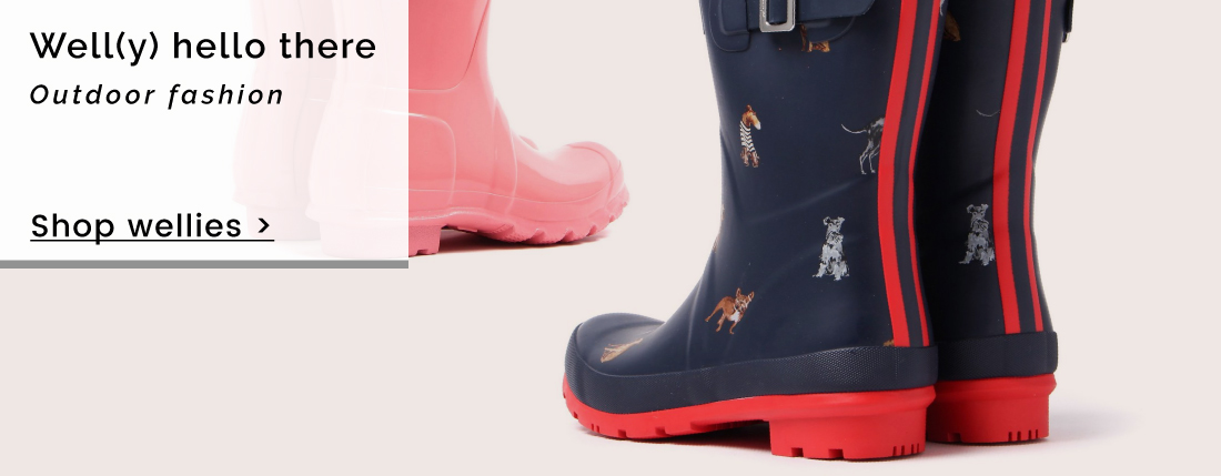 Well(y) hello there | Outdoor fashion - Shop wellies >