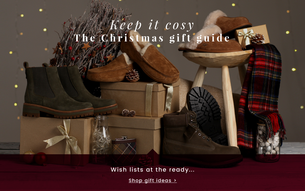 Keep it cosy | The Christmas gift guide - Shop Christmas >