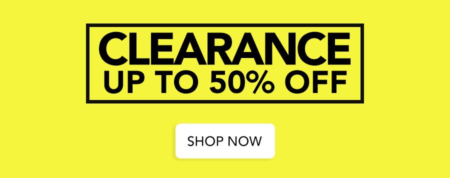 Clearance - At least 50% off