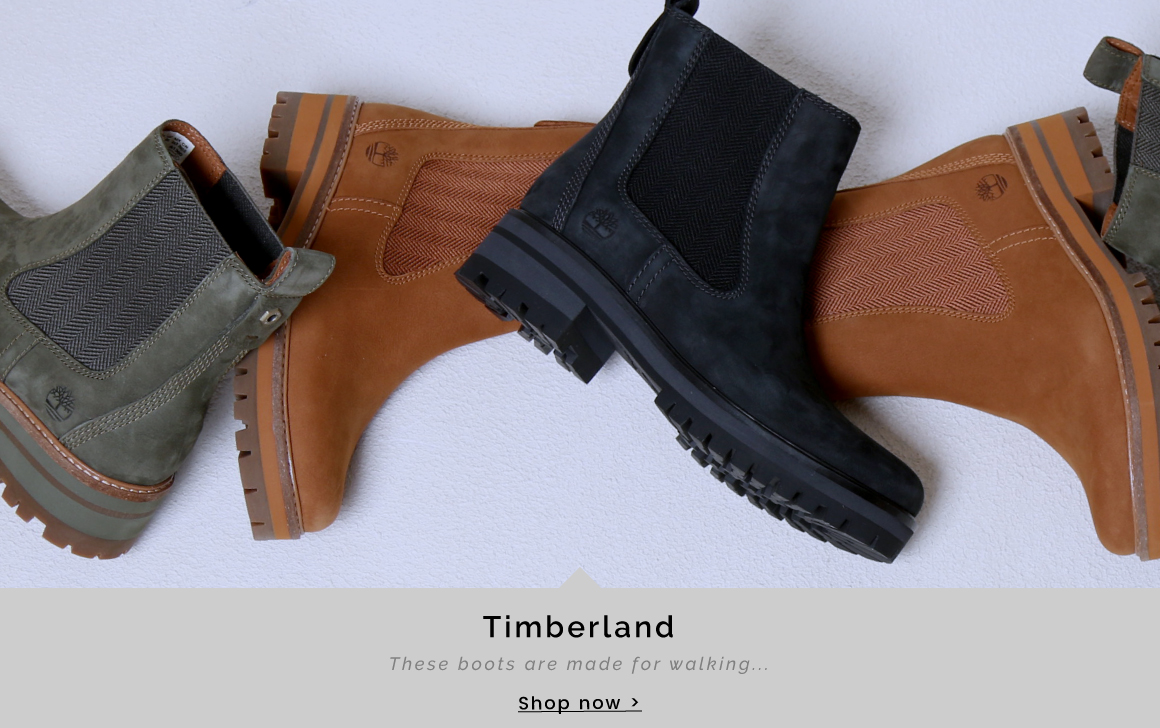 Timberland | These boots are made for walking - Shop now >