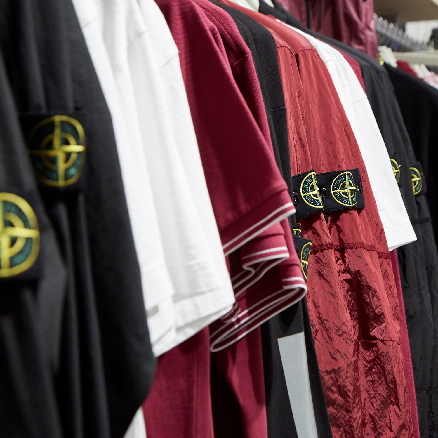 A night with Stone Island