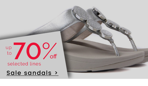 up to 70% off Sandals >