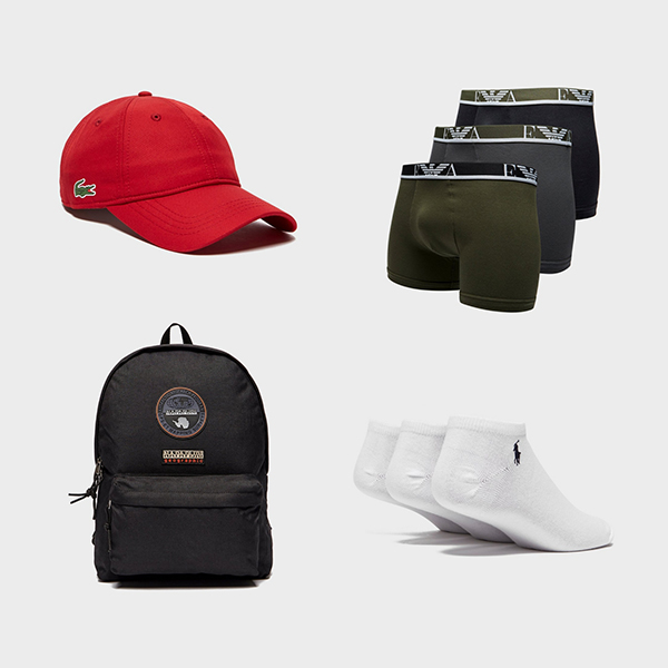 Bags, caps, socks & more