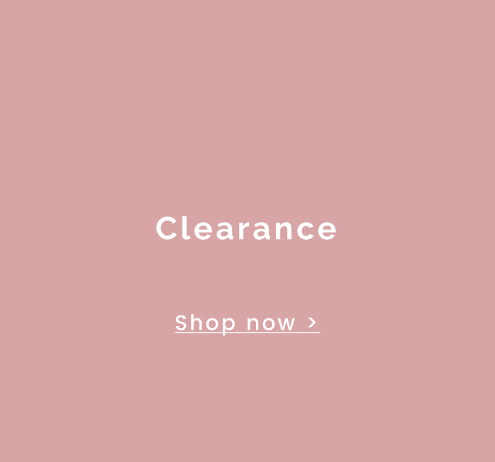 Clearance - Shop now >