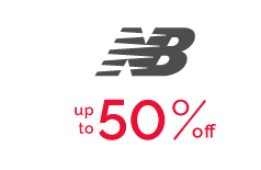 New Balance - up to 50% off