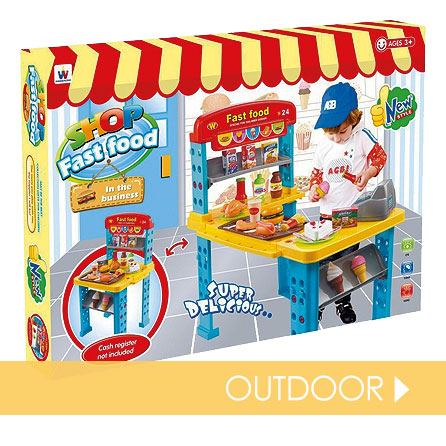 Outdoor toys suitable for everyone