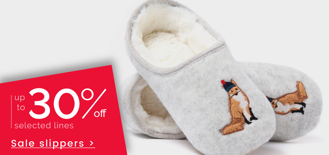 Shop Slippers >