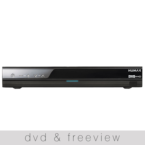 DVD and Freeview
